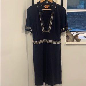 Gorgeous Beaded Tory Burch Shift Dress